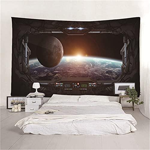 YYRAIN Planet Wandteppich Dekoration Wandaufkleber Hintergr& Stoff Bettwäsche Tagesdecke {150cm x 180cm Width×Height} A