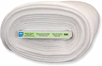 Pellon Nature's Touch Natural Cotton with Scrim Batting, 120