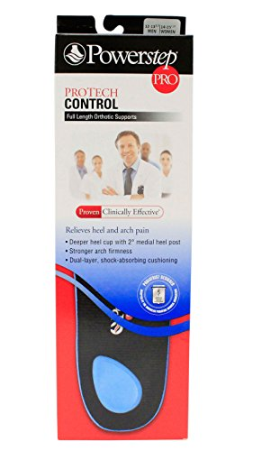 Powerstep Protech Control Full Length Size: IJ - M12-13.5 or W14-14.5