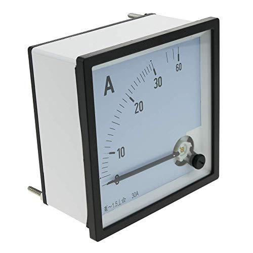 Cablematic Analoge elektrische Quadratmeter 96x96mm 30A Amperemeter