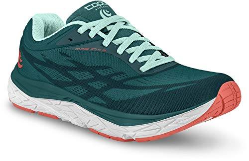 Topo Athletic Damen-Laufschuhe Magnifly 3 Zero Drop Road, (Smaragdgrün), 37 EU