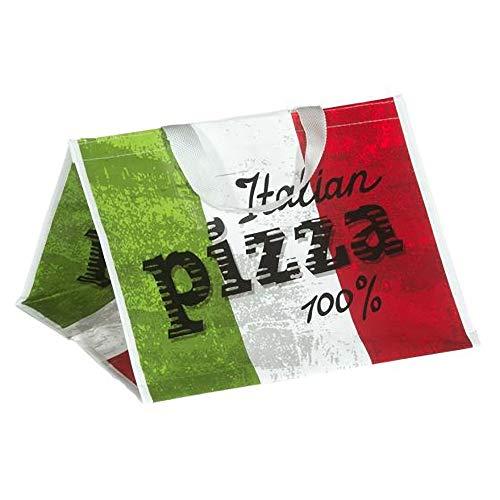 4 Stk. Tragetasche gewebt für Pizzakarton