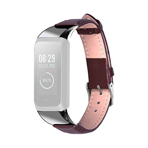 YWLINK Correa De Reloj De Pulsera con Hebilla De CinturóN Moda Simple Inteligente para Reloj Amazfit Cor 2 FáCil De Transportar O Cerrar Pulsera Inteligente