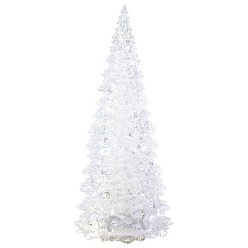 Europalms Tamaño pequeño 1 Pieza Árbol de Navidad LED de FC, Blanco