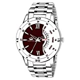 LUXURY STYLE :- Fashion Classic Designs Wrist watch from the house LIMESTONE with Amazing Features gives you an Extraordinary Luxurious Experience MOVEMENT :- Quartz movement with analog display provides precise time and long-term running. Perfect wa...