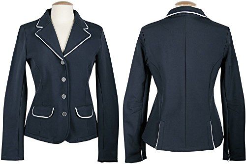 Harry's Horse Damen Turnierjacket Softshell St.Tropez - XXL, Schwarz