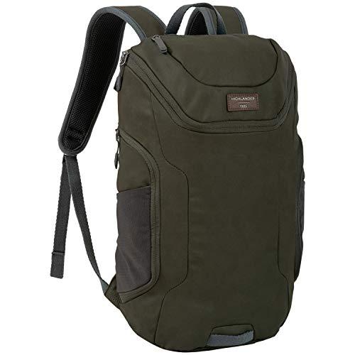 Sac de jour Highlander 22L - Sac à dos stylé et résistant à l'eau, avec compartiment rembourré pour PC portable - Sac Bahn