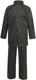 Silverline Impermeable Poncho de un tamaño de la seguridad y Workwear Herramienta