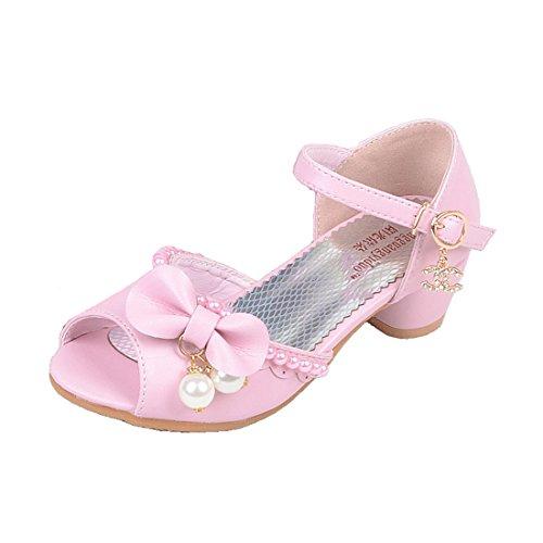 Cool&D Mädchen Sandalen Frozen Schuhe Prinzessin Sandalen Sommer Absatz-Schuhe Sandalette