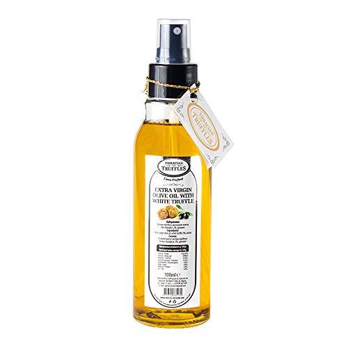 Aceite de trufa blanca con aceite de oliva virgen extra Tuber Magnatum Pico para cocinar, servir, ensaladas SPRAY (1 x 100ml)