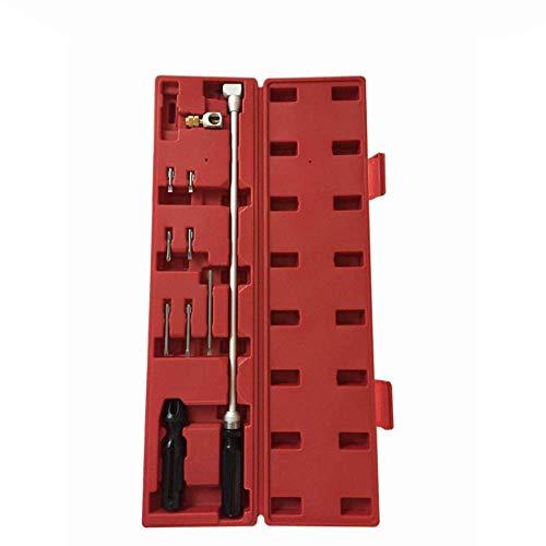 HYLH Vergaser Einstellwerkzeug Schraubenschlüssel 90 Grad Kegelschraubendreher Winkelschraubendreher Kit Autoreparaturwerkzeuge