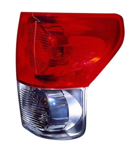 Go-Parts - for 2007 - 2009 Toyota Tundra Rear Tail Light Lamp Assembly / Lens / Cover - Right (Passenger) Side 81550-0C070 TO2801165 Replacement 2008