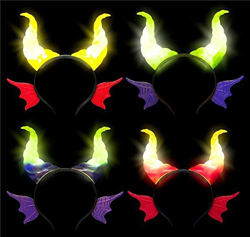 Buy Bargain DollarItemDirect Light-Up Dragon Headband, Case of 96