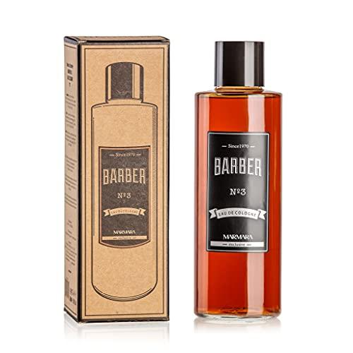 BARBER MARMARA No.3 Eau de Cologne Splash Hombres 500ml en vidrio Flacon...