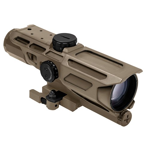 NcSTAR NC Star VSTM3940GV3T, Mark III Tactical Compactx 40mm, Gen 3, Mil Dot Reticle