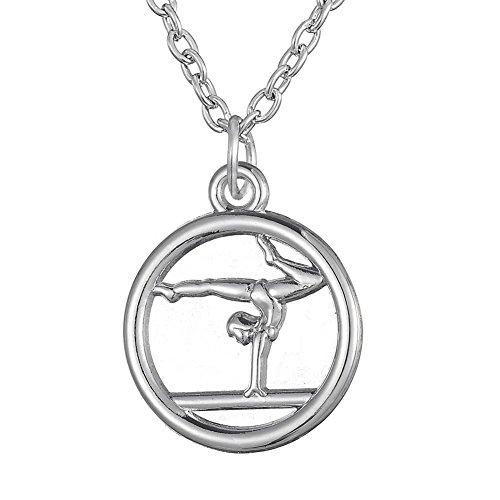 Turnanhänger Trendige Halskette für Mädchen