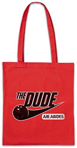 Urban Backwoods Dude Air Hipster Bag Beutel Stofftasche Einkaufstasche