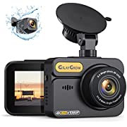 """4K Dash Cam Front and Rear Built-in GPS GILAYGROW Front 4K/2.5K and Rear 1080P Dual Dash Camera for Cars 2"""" IPS 170° Wide Angle Dashboard Camera, Night Vision, WDR, Parking Monitor, Support 256GB Max"""