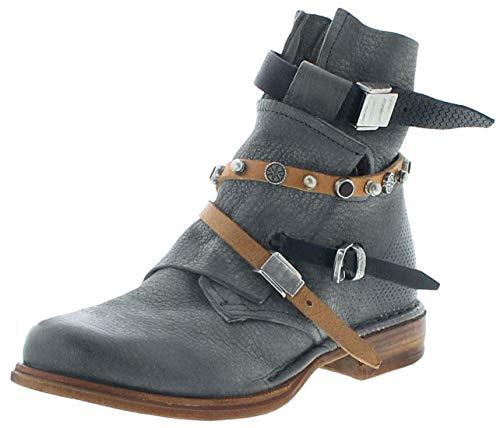 FB Fashion Boots Damen Stiefel A.S.98 706204 Airsteps Stiefletten Grau 38 EU inkl. Schuhdeo