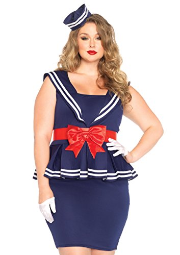 Leg Avenue - 85403x09038 - Costume Aye Aye Amy - 3x-4x (48-50 EU)