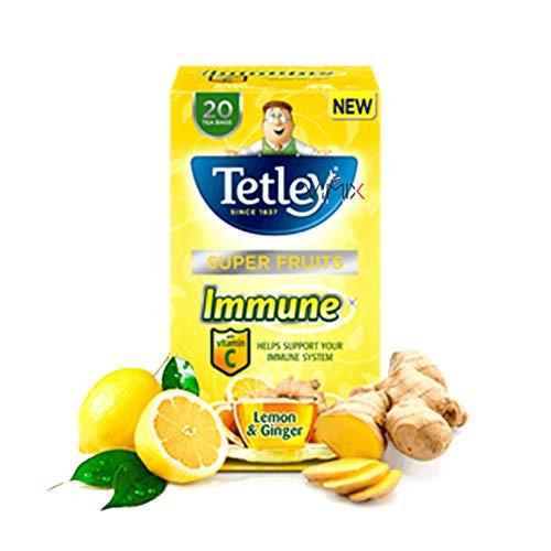 TETLEY Different Tea Bags Original (Immune Lemon Ginger)