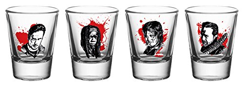 GB Eye Ltd The Walking Dead, Schnapsgläser, Verschiedene Motive