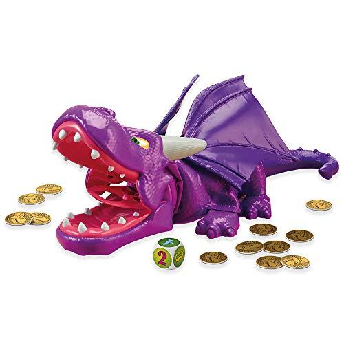 Snap Dragon, das hochwertige Aktionsspiel von Drumond Park für die ganze Familie. Das beliebte Geschicklichkeitsspiel für Jung und Alt fördert die Motorik und bringt Spielspaß ohne Ende. Ab 4 Jahren