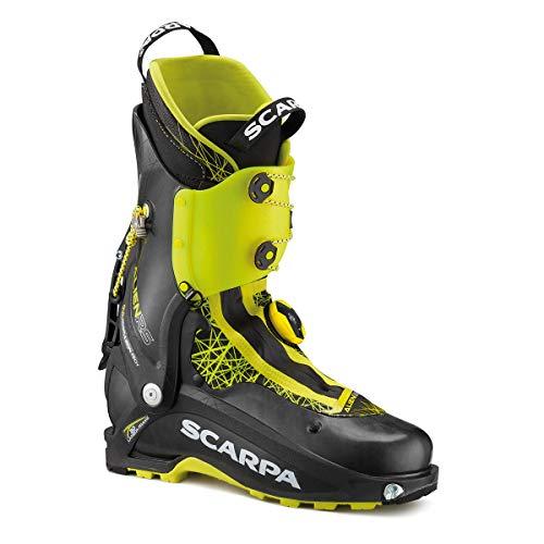 Scarpa Alien RS Grün-Schwarz, Herren Touren-Skischuh, Größe EU 39.5 - Farbe Carbon Black