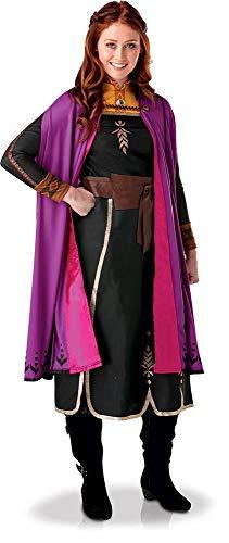 Rubie's, costume ufficiale Disney Frozen 2, Anna Deluxe, per adulti