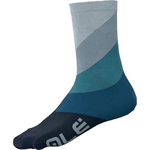 Ale Diagonal Digitopress - Calzini da corsa, colore: Blu