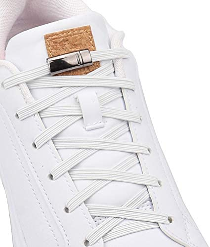 Aiboxin Upgraded Version No Tie Elastic Shoelaces With Magnetic Shoe Laces Lock One Size Fits product image