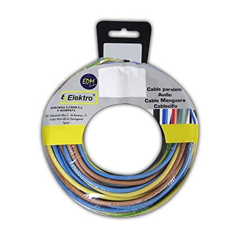 Enrouleur de câble sans halogène 1,5 mm 3 câbles (az-mt) 20mts x couleur 60mt