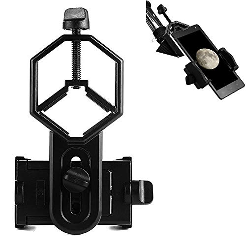 CYPRESS Phone|Smartphone Optics Cas|Clip|Clamp| for Binoculars, Spotting Scopes, Telescopes, Microscopes, Monoculars and More, Eye Lens with 0.98-1.88 Inch Inner Diameter