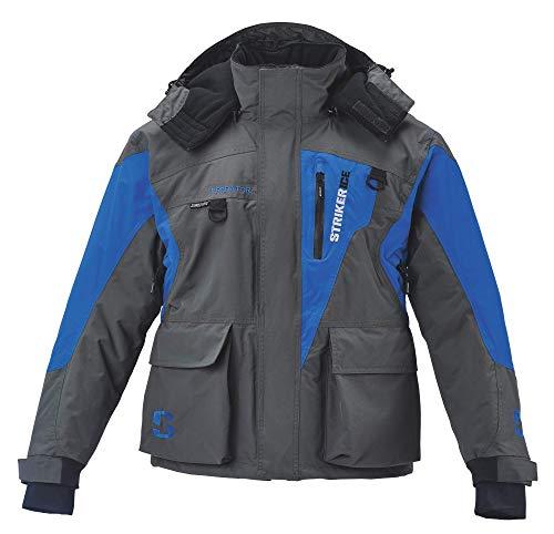 BALEAF Men's Ski Snowboard Jacket Mountain Windproof Fleece Winter Snow Coat Rain Jacket with Utility Zipper Pockets Blue/Gray S