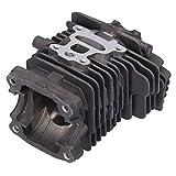 Zerodis Kit de pistón de Cilindro de 40 mm, Cilindro de Motosierra de fabricación Profesional, Apto para Stihl MS211 MS 211C MS211C, Accesorio de repuestos de Motosierra