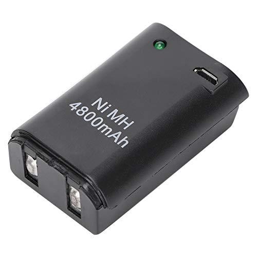 Goshyda Batería para Gamepad, batería Recargable de Ni-MH para Gamepad 2 en...