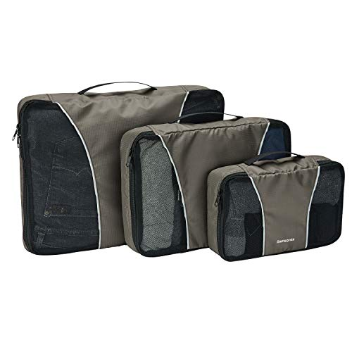 Samsonite 3 Piece Packing Cube Set, Charcoal