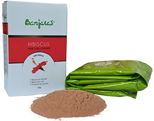 Banjara's Hibiscus Powder Herbal Premium Grade 100gm