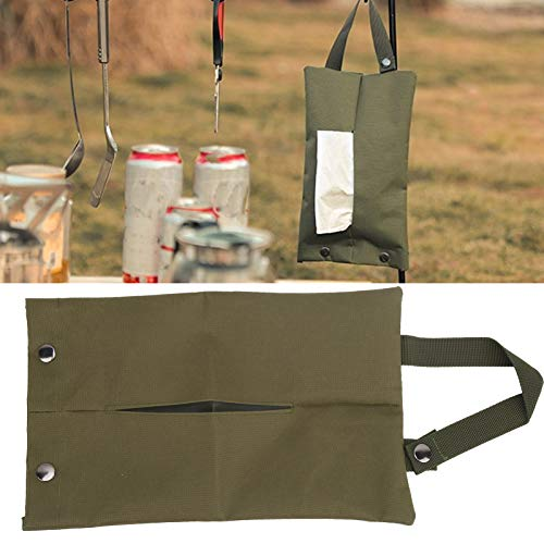 Huairdum Caja de pañuelos Colgante, Bolsas Colgantes Bolsa portátil para pañuelos de baño para el hogar