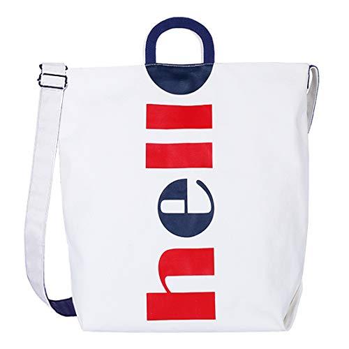 Damen Canvas Handtasche Schultertasche Casual Multifunktionale Umhängetaschen Henkeltasche Schultertasche Messengertasche Crossover Bag für Mädchen Arbeit Schule Shopper Lässige täglich.