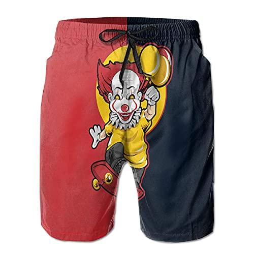 XCNGG Pantalones Cortos de Playa Man Board Shorts Active Swimtrunks Penny_Wise Beach...