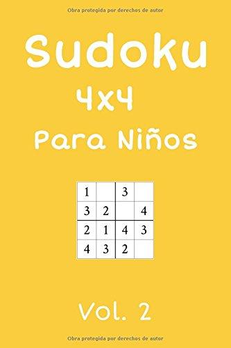 Sudoku 4x4 Para Niños: 240 Sudokus, Vol. 2