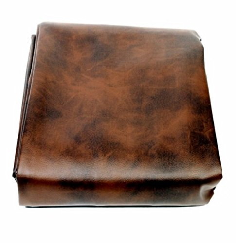 Iszy Billiards 9 Foot Heavy Duty Fitted Leatherette Pool Table Billiard Cover Amber