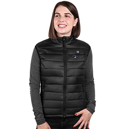 OUTCOOL Women's Heated Vest Slim Fit Insulated Heating Vest (Type:NMJ1802)(S) Black