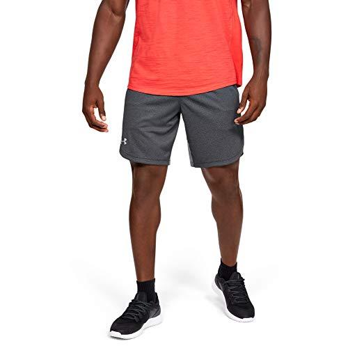 Under Armour Herren Performance aus Strick atmungsaktive und komfortable Kurze Hose aus robustem Strickmaterial, leichte Shorts mit offenen Seitentaschen, Schwarz, XL