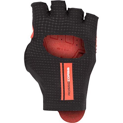 Castelli Cabrio Handschuh Herren schwarz/rot, S