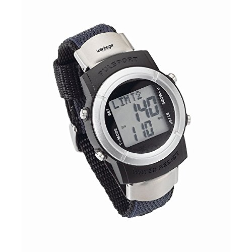 Preisvergleich Produktbild Weinberger Pulsuhr Pulsmesser Armbanduhr Stoppuhr Sport Uhr inkl. Brustgurt