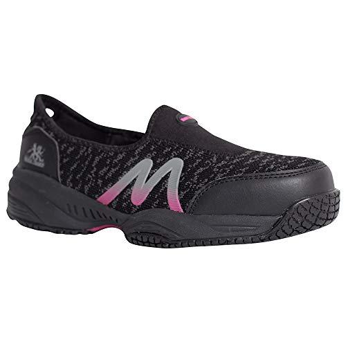 Moxie Trades Work Boots,7 Wide,D,Black,Composite,PR