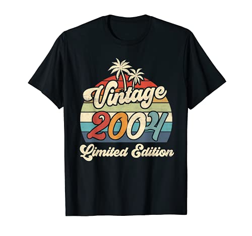 Vintage 2004 17th Birthday Shirt Limited Edition 17 Year Old T-Shirt