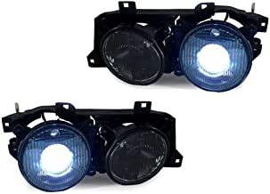 CPW (TM) EURO SMILEY PROJECTOR CROSS HAIR XENON HID HEADLIGHTS FOR 1984-1091 BMW E30 M3 325i 318i is